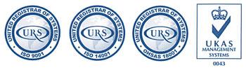 Berthon ISO accreditations