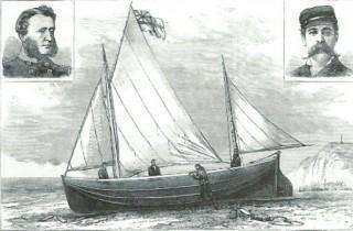 Berthon 28 foot Collapsible Boat Bay of Biscay 1882