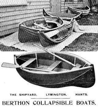The Berthon Collapsible Lifeboat