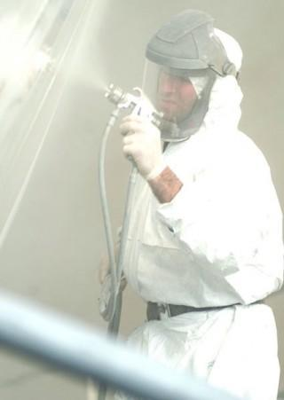 Yacht Paint Spraying