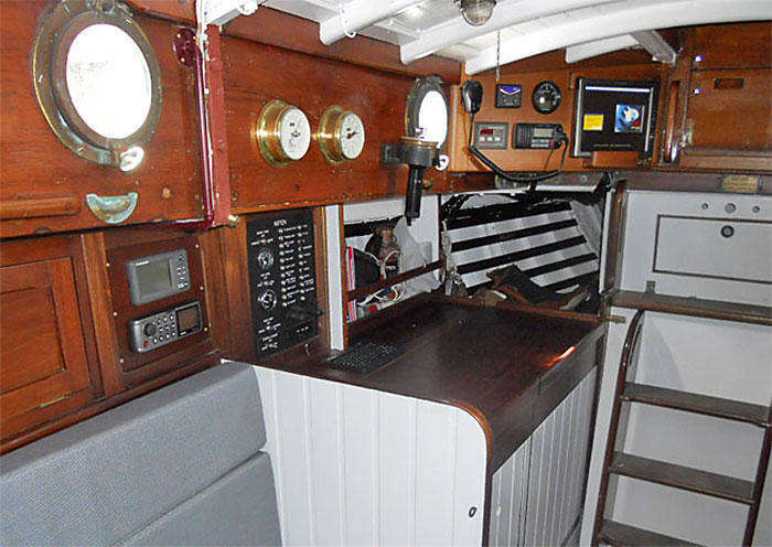 Mitten's revamped interior - traditional but technologically advanced (figure 1)