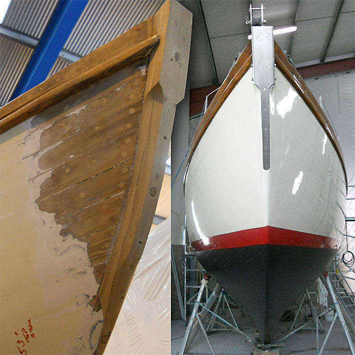 Mitten's revitalised hull (figure 1)