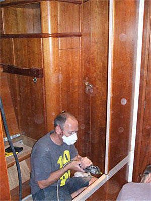 Removing the bulkhead (figure 5)