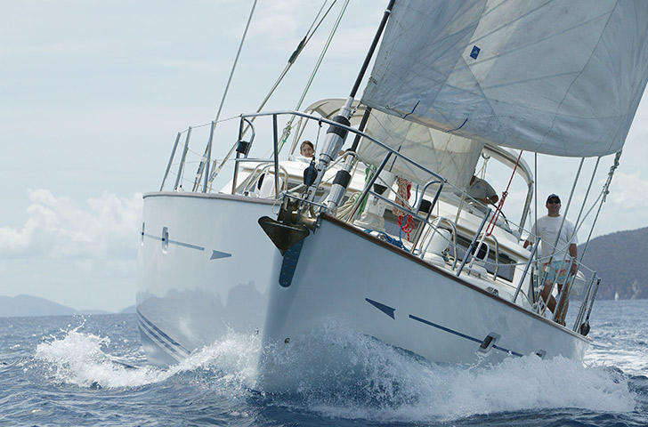 Oyster 62 Sailing