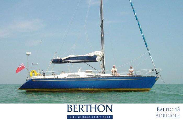 Baltic 43 for sale at Berthon