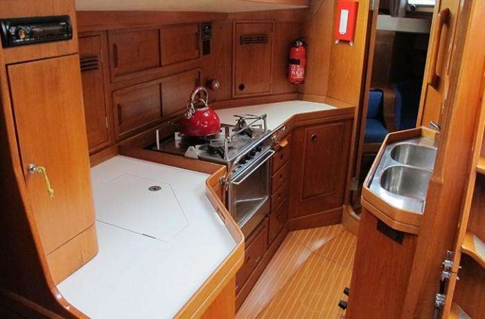 Galley baltic 43