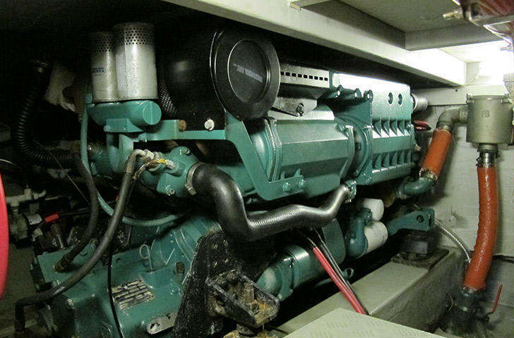 Engine room - aqua star 47