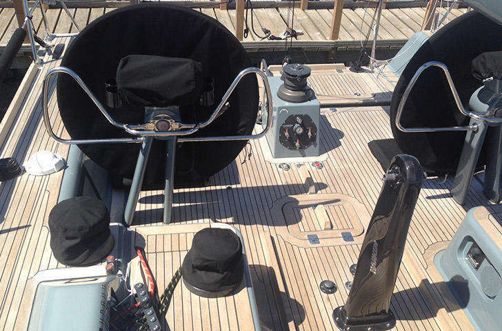 Baltic 45 helm position
