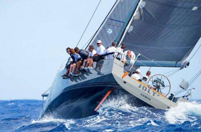 Baltic 45 sailing yacht on the wind