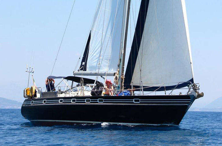 Contest 46/48 Bluewater sailing yacht