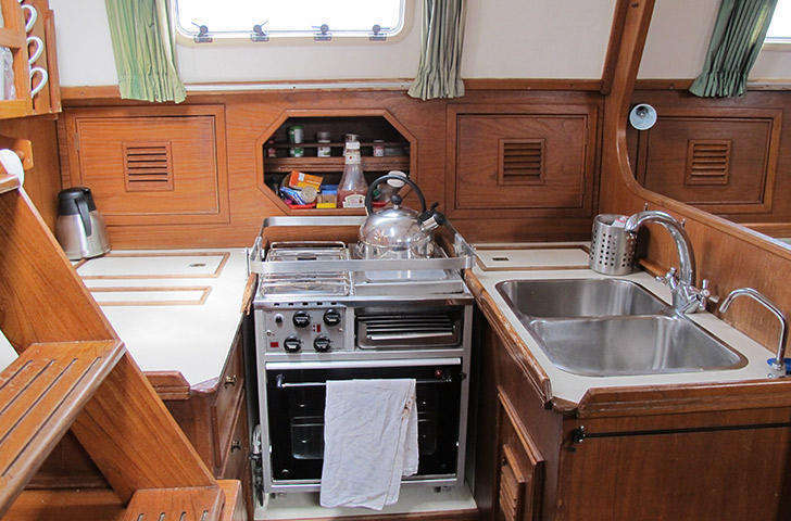 Dawn class 39 galley
