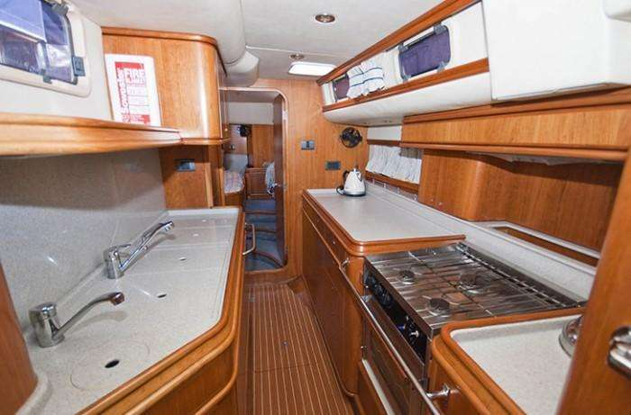 Discovery 55 Galley