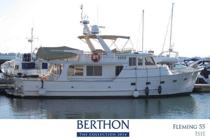 Fleming 55 ISIS joins the 20th Berthon Collection For Sale
