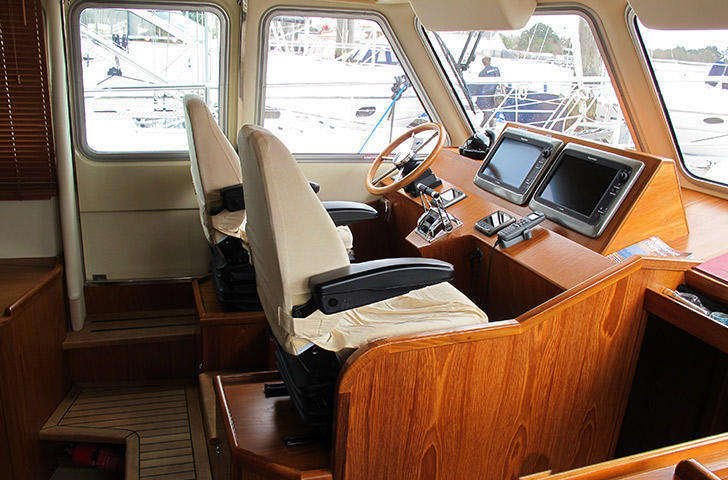 inside Helm position Hardy 42