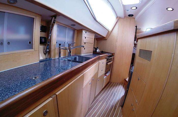 Southerly 49 galley