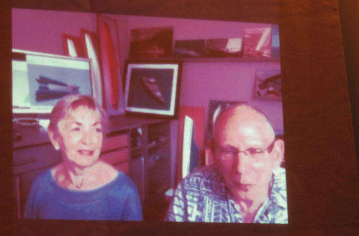 Steve and Linda Dashew on Skype