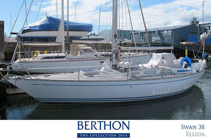Swan 38 joins the Berthon collection