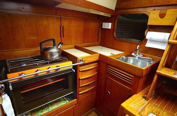 Swan 38 Galley