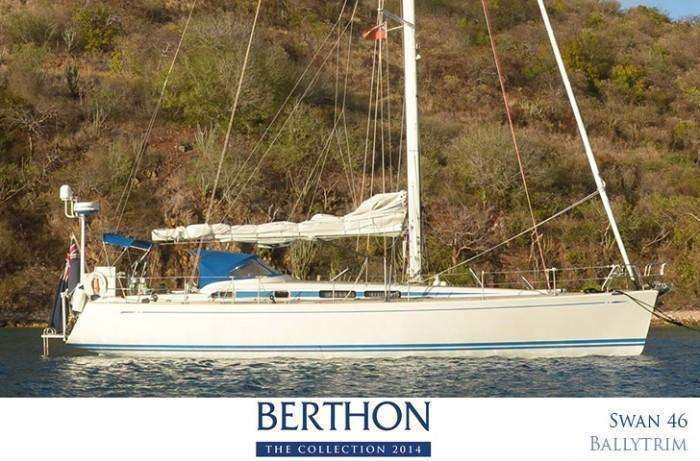 Nautor Swan 46 Ballytrim for sale with Berthon International