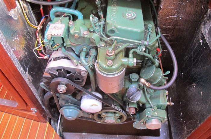 Sweden Yachts 390 engine
