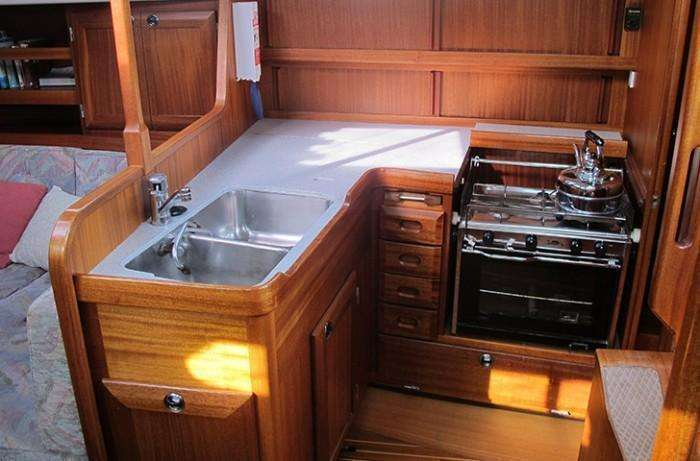 Sweden Yachts 390 Galley