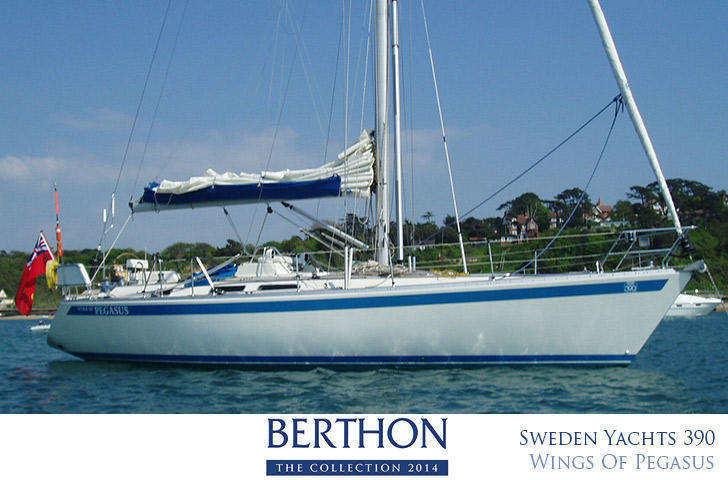 Sweden Yacht 390 for sale Berthin