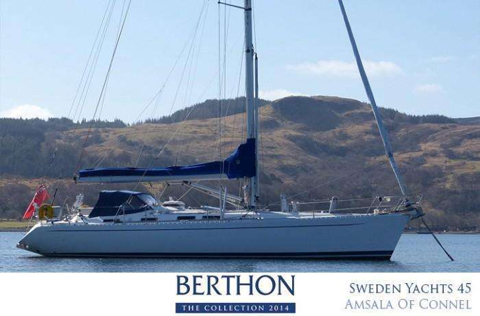 Sweden Yachts 45 for sale at Berthon