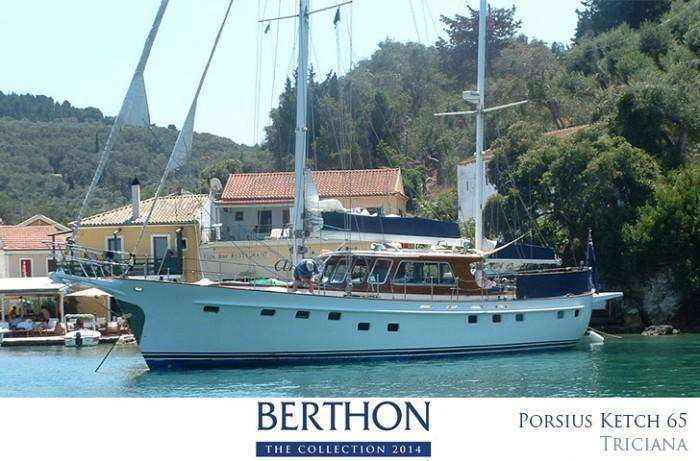 Porsius Ketch for sail