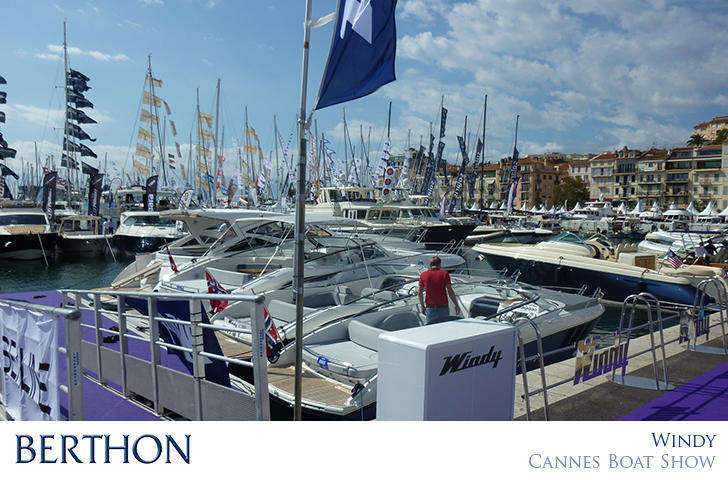 Windy Boats France at Cannes Boat Show
