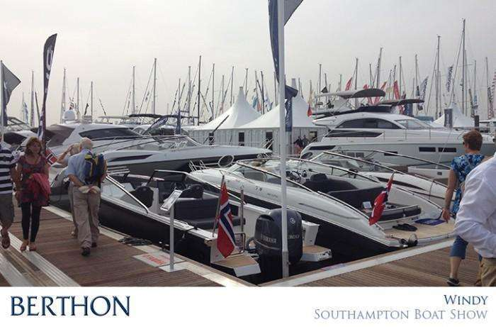 Windy Boats UK PSP Southampton Boat Show