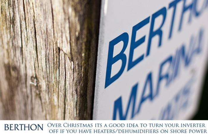 Turn off your inverter over the Christmas season