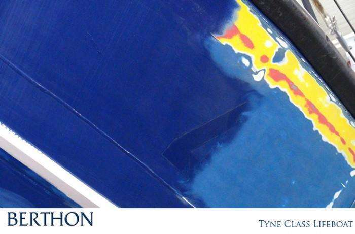 Tyne Class Lifeboat Paint