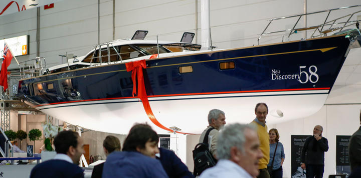 Discovery 58 Dusseldorf Boat Show 2015
