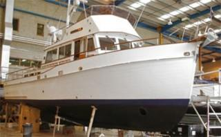 Grand Banks 42 Refit at Berthon