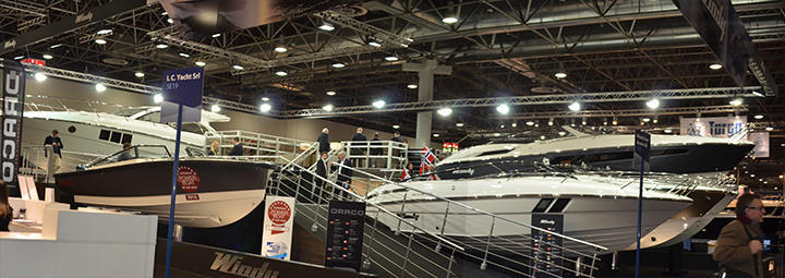 Windy Boats Dusseldorf Stand 2015