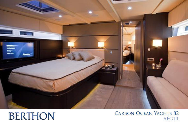 Carbon Ocean Yachts 82 cabin