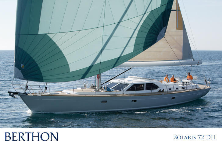 Solaris 72 DH yacht for sale