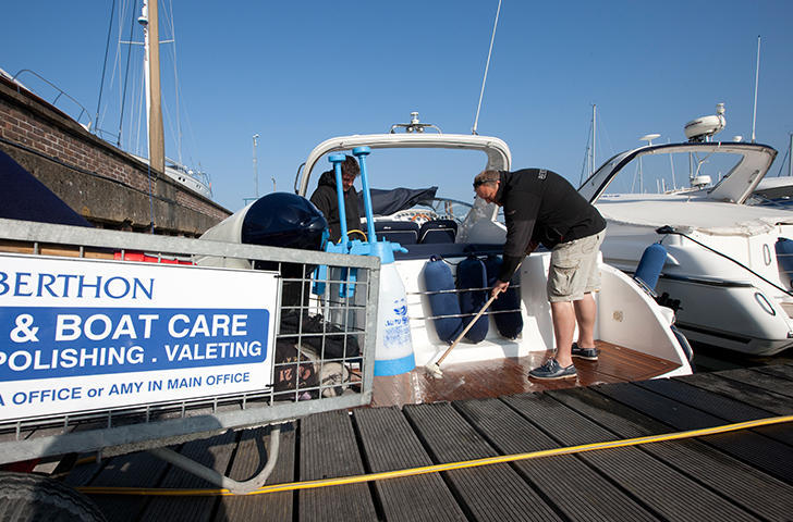 Berthon Boat Care Yacht Valeting Services
