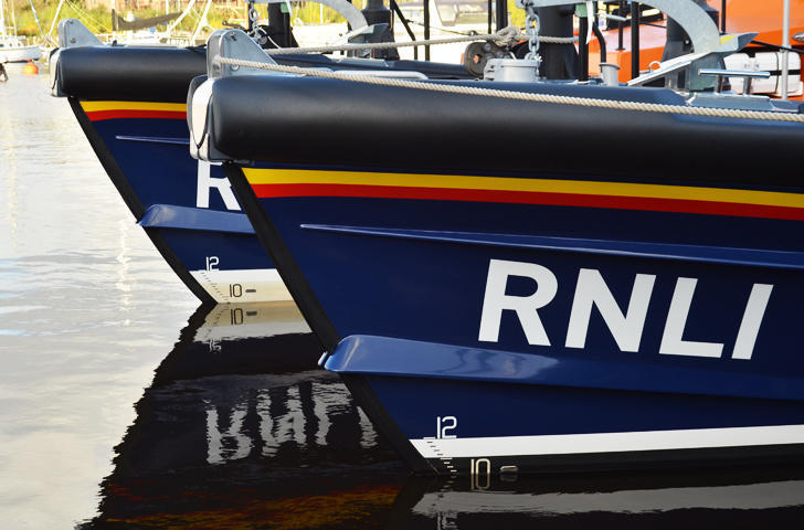 RNLI Shannon Lifeboats Built by Berthon