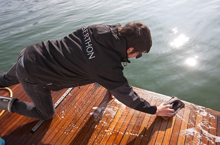 Teak Care by the Berthon Boat Care Team