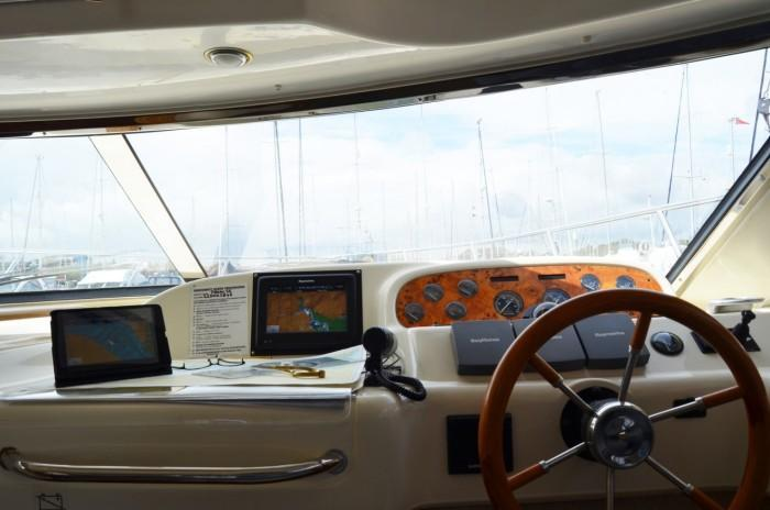 Ipad connected to Raymarine A95 MFD