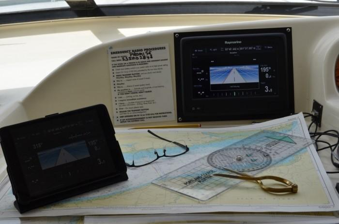 Wireless Chartplotter Installation at Berthon