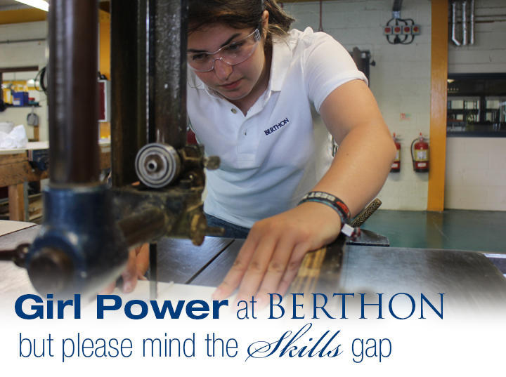 Girl Power at Berthon Boat Co