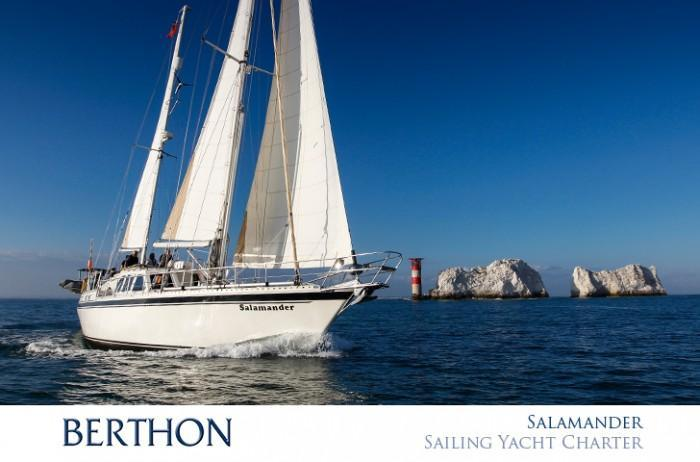 The Salamander Sailing Adventure yacht charter lymington