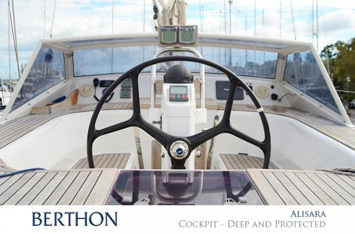 Deep protected cockpit - ALISARA