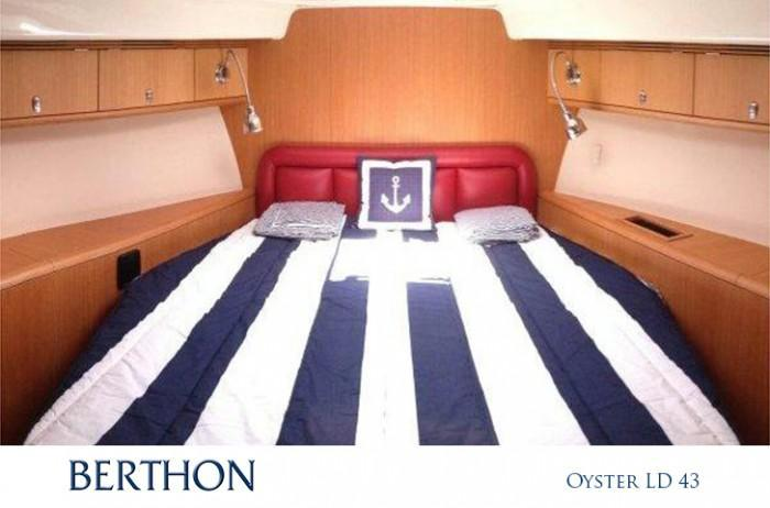 Forward Cabin of Oyster LD 43