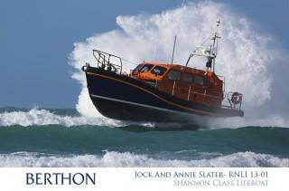 Jock and Annie Slater - RNLI 13-01 - Shannon Class Lifeboat