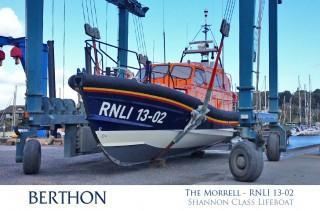 The Morrell - RNLI 13-02 - Shannon Class Lifeboat - Dungeness