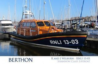 R & J Welburn - RNLI 13-03 - Shannon Class Lifeboat