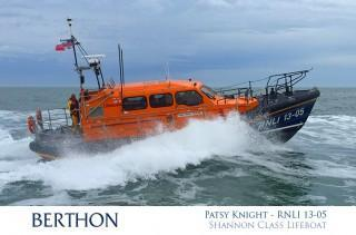 Patsy Knight - RNLI 13-05 - Lowestoft RNLI Lifeboat
